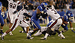 Kentucky Wildcats wide receiver La'Rod King (16) defends the ball during the first half of the UK Football game v. Samford at Commonwealth Stadium in Lexington, Ky., on Saturday, November 17, 2012. Photo by Genevieve Adams | Staff