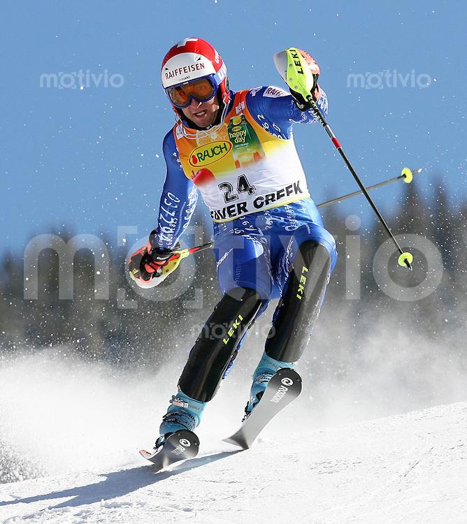 Ski Alpin; Saison 2006/2007  Slalom Herren Silvan Zurbriggen (SUI)