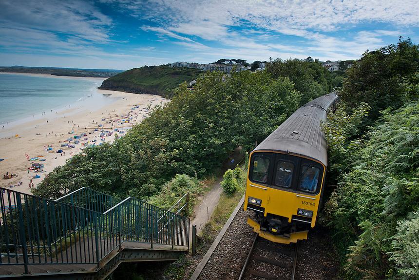 Carbis bay. Cornwall, England