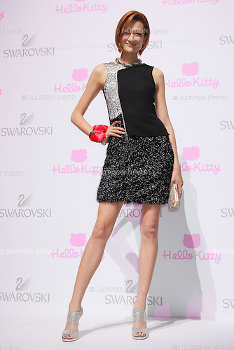 "Ai Tominaga, June 29, 2011.Swarovski and Hello Kitty collaboration jewelry line - Swarovski presents ""House of Hello Kitty"" makes a debut at Omotesando Hills in Tokyo, Japan. This is also a charity event to help the Earthquake victims of Japan."