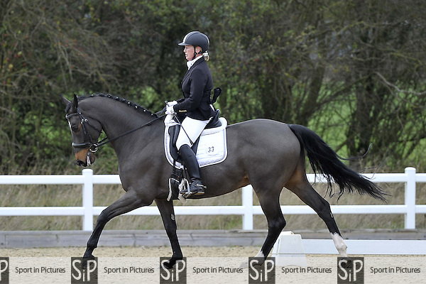 Class 5. Elementary 43. British Dressage. Brook Farm Training Centre. Essex. 27/11/2015. MANDATORY Credit Garry Bowden/Sportinpictures - NO UNAUTHORISED USE - 07837 394578