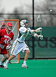 1 April 2008: University of Vermont Catamounts' Andrew Holden, a Senior from Glastonbury, CT, in action against the Fairfield University Stags at Moulton Winder Field, in Burlington, Vermont. The Catamounts rallied to overcome a five goal deficit and defeat the visiting Stags 9-8 notching their third win of the season...Mandatory Photo Credit: Ed Wolfstein Photo