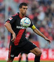 FUSSBALL   1. BUNDESLIGA   SAISON 2011/2012    2. SPIELTAG Bayer 04 Leverkusen - SV Werder Bremen              14.08.2011 Michael BALLACK (Bayer 04 Leverkusen) Einzelaktion am Ball