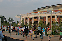 John Paul Jones arena at the University of Virginia in Charlottesville, VA. 8-17-06. Photo/Andrew Shurtleff