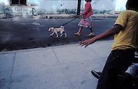 Street scene in Habana, Cuba.