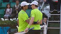 ANDY MURRAY (GER), FERNANDO VERDASCO (ESP)<br /> <br /> Tennis - French Open 2014 -  Toland Garros - Paris -  ATP-WTA - ITF - 2014  - France - <br /> 2nd June 2014. <br /> <br /> &copy; AMN IMAGES