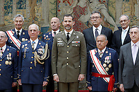 Prince Felipe os Spain attends military audiences