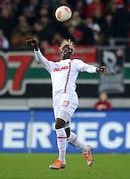 FUSSBALL   1. BUNDESLIGA  SAISON 2012/2013   13. Spieltag FC Augsburg - Borussia Moenchengladbach           25.11.2012 Aristide Bance (FC Augsburg)