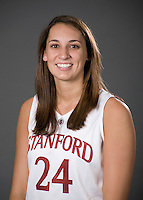 Ashley Cimino of the Stanford basketball team.