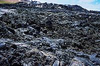 Iceland. Volcanic landscape at the Krafla caldera.