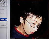 Arrested British rapist Joseph Tsang as seen on his LinkedIn profile before his arrest at Lei Tung Estate, Ap Lei Chau, Hong Kong, China, 25 September 2015. Joseph Tsang was charged and convicted of raping underage girls and possession of child pornorgaphy by Oxford Crown Court in August, but skipped bail to flee to his native Hong Kong before sentencing.