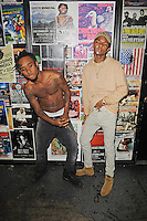 FORT LAUDERDALE FL - AUGUST 17: Swae Lee and Slim Jimmy of Rae Sremmurd pose for a portrait during 99 Jamz Uncensored at Revolution on August 17, 2016 in Fort Lauderdale, Florida. Credit: mpi04/MediaPunch