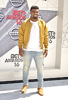 LOS ANGELES, CA - JUNE 26: Ezekiel Elliott at the 2016 BET Awards at the Microsoft Theater on June 26, 2016 in Los Angeles, California. Credit: Koi Sojer/MediaPunch