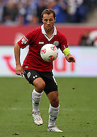 Football: Germany, 1. Bundesliga.Hannover 96.Steven Cherundolo.© pixathlon