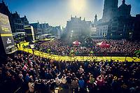 full house for the morning team presentations in the (new) start town of Antwerpen<br /> <br /> 101th Ronde Van Vlaanderen 2017 (1.UWT)<br /> 1day race: Antwerp &rsaquo; Oudenaarde - BEL (260km)