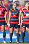 16 November 2013: Liberty's Brittany Aanderud. The University of North Carolina Tar Heels hosted the Liberty University Flames at Fetzer Field in Chapel Hill, NC in a 2013 NCAA Division I Women's Soccer Tournament First Round match. North Carolina won the game 4-0.
