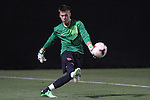 30 August 2013: Rutger's David Greczek. The Duke University Blue Devils hosted the Rutgers University Scarlet Knights at Koskinen Stadium in Durham, NC in a 2013 NCAA Division I Men's Soccer match. The game ended in a 1-1 tie after two overtimes.