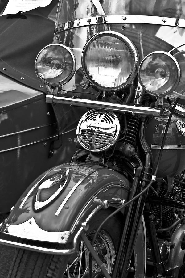 Vintage Harley-Davidson Motorcycle