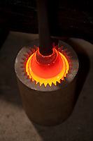 Molten Glass, Wheaton Arts and Cultural Center, Millville, New Jersey