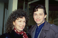 Jon Cryer & Mom 1987 By Jonathan Green