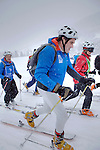 Challenge Mer et Montagne 2012, Saint Gervais les Bains, Mont Blanc, Haute Savoie, France..Ski Rando..Gildas Morvan, Serge Madec.