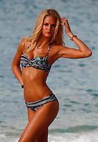 Erin Heatherton poses for the Victoriaís Secret bikini photoshoot - Saint Barths