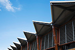 Roof detail of Cairns Convention Centre.  Cairns, Queensland, Australia