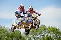 BAX Etienne (NED) und STUPELIS Kaspars (LAT) auf WSP-ZABEL