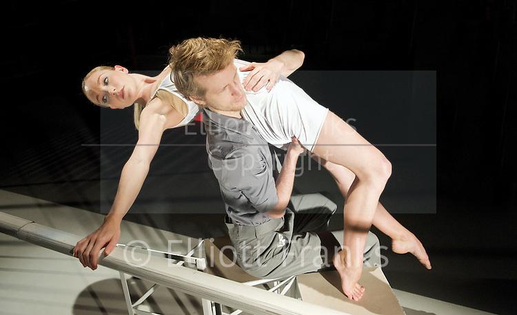 Jealousy<br /> a collaboration between Dance &amp; Sculpture<br /> at The Print Room<br /> London, Great Britain <br /> press photocall<br /> 6th February 2012<br /> <br /> sculptor : Laurence Kavanagh<br /> <br /> choreographers: James Cousins, Hubert Essakow, Daniel Hay Gordon &amp; Morgann Runacre-Temple<br /> <br /> Dancers: Amy Drew &amp; Jack Jones <br /> <br /> <br /> Photograph by Elliott Franks