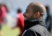 Fred#27 of D.C. United during a training session in Hapgood Stadium on the campus of the Citadel,on March 11 2011, in Charleston, South Carolina