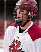 Scott Savage (BC - 2) - The Boston College Eagles practiced at Fenway on Friday, January 6, 2017, in Boston, Massachusetts.