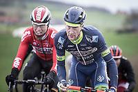 Frederik Backaert (BEL/Wanty Groupe-Gobert)<br /> <br /> 1st Dwars door West-Vlaanderen 2017 (1.1)