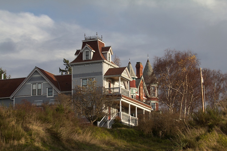 Port Townsend Historic Victorian Architecture Joel