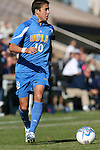 UCLA's Kyle Nakazawa on Sunday, November 26th, 2006 at Koskinen Stadium in Durham, North Carolina. The University of California Los Angeles Bruins defeated the Duke University Blue Devils 3-2 in sudden death overtime in an NCAA Division I Men's Soccer Championship quarterfinal game.