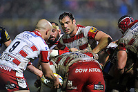 Mariano Galarza of Gloucester Rugby looks on. Aviva Premiership match, between Bath Rugby and Gloucester Rugby on February 5, 2016 at the Recreation Ground in Bath, England. Photo by: Patrick Khachfe / Onside Images