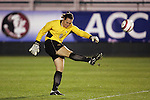4 November 2005: . The University of Virginia defeated Florida State University 2-0 at SAS Stadium in Cary, North Carolina in the semifinals of the 2005 ACC Women's Soccer Championship.