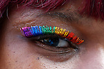 NEWS- LGBT members take part in the gay pride parade in New York