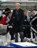 Germany Head Coach Silvia Neid. US Women's National Team defeated Germany 1-0 at Impuls Arena in Augsburg, Germany on October 27, 2009.