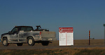 11/7/07 Smith Center, KS.Sign leading into Smith Center KS..Lists all championships won by the Smith Center High school...(Chris Machian/Prairie Pixel Group)