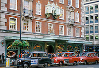 Fortnum and Mason traditional English grocer shop and provisions merchant in Piccadilly in London, England, UK in the 1980s