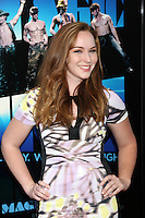 "LOS ANGELES - JUN 24:  Camryn Grimes arrives at the ""Magic Mike"" LAFF Premiere at Regal Cinema at LA Live on June 24, 2012 in Los Angeles, CA"