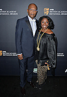 BEVERLY HILLS, CA. October 28, 2016: Samuel L Jackson &amp; LaTanya Richardson  at the 2016 AMD British Academy Britannia Awards at the Beverly Hilton Hotel.<br /> Picture: Paul Smith/Featureflash/SilverHub 0208 004 5359/ 07711 972644 Editors@silverhubmedia.com