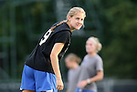24 September 2009: Duke's Meaghan FitzGerald. The University of North Carolina Tar Heels defeated the Duke University Blue Devils 2-1 in sudden victory overtime at Fetzer Field in Chapel Hill, North Carolina in an NCAA Division I Women's college soccer game.