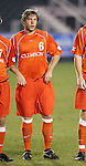 Clemson's Havrid Usry on Wednesday, November 9th, 2005 at SAS Stadium in Cary, North Carolina. The Clemson Tigers defeated the University of Virginia Cavaliers 4-1 during their Atlantic Coast Conference Tournament Quarterfinal game.