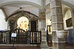 Entrance to Capela de Ossos - Chapel of the Bones, San Francisco Church, Evora, Alto Alentejo, Portugal