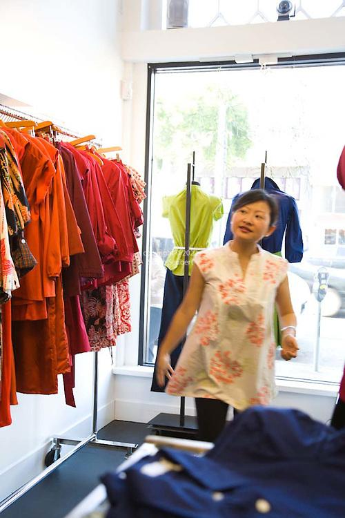 San Francisco Fashion Designer Sunhee Moon In Her Namesake