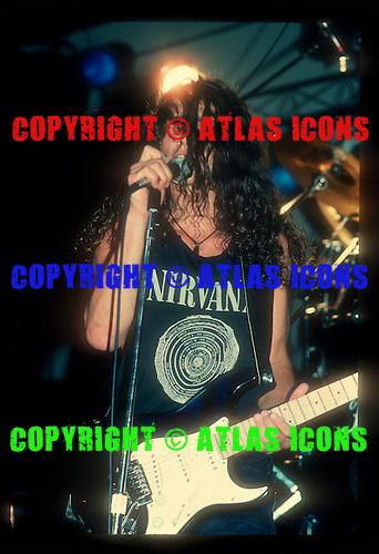 Soundgarden; 1989 Concrete Foundations<br /> Photo Credit: Eddie Malluk/Atlas Icons.com