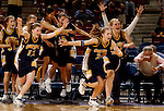 Oak Ridge High School runs on the court after beating El Camino in double overtime, during their game at Arco Arena, Friday March 7, 2003. Oak Ridge won the game, 72-67.