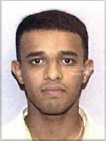 Washington, DC - September 26,  2001 -- Photo released by FBI of  M. A. Al Suqami, one of the alleged hijackers of American Airlines Boeing 767 designated as Flight #11, from Boston to Los Angeles.  The flight departed Boston at 7:45 AM on Tuesday, September 11, 2001 and crashed into the North Tower of the World Trade Center  an hour later at 8:45 AM..Credit: FBI via CNP