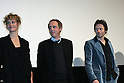 March 18, 2010 - Tokyo, Japan - (L-R) Cecile De France, Mathieu Amalric and Arnaud Desplechin attend the French Film Festival 2010 press conference at Roppongi Hills on March 18, 2010 in Tokyo, Japan. (Laurent Benchana/Nippon News)